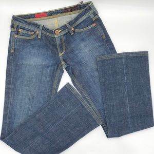 Ag Adriano Goldschmied The Merlot Bootcut Jeans